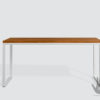 biurko drewniane metalowe