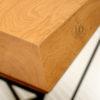 stolik kawowy diamentowy drewniany