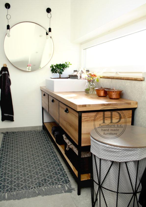 szafka pod umywalką